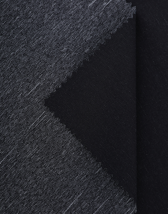Business Causal JZ-w889 heather stretch fabric for outer shell